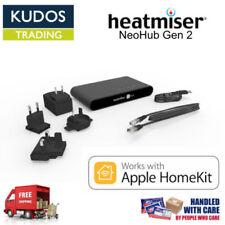 Underfloor Heating Black Thermostats