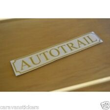 AUTOTRAIL Classic Name Sticker Decal Graphic - (OPEN VERSION) - PAIR
