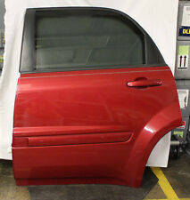 2005 Chevrolet Equinox Complete Door Back Left / Driver Side Salsa Red Metallic