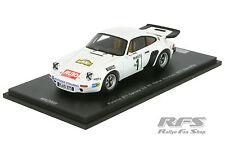 Porsche 911 Carrera 3.0 RS - Röhrl - Hunsrück Rallye 1977 - 1:43 Spark MAD 008