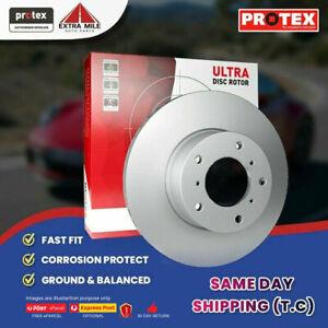 2X PROTEX Disc Brake Rotors - Rear For SKODA YETI 5L 4D SUV AWD……