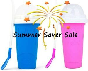 MAGIC SLUSHY MAKER CUP DIY Milkshake, Iced Coffee, Smoothie, Kids & Adults Gift