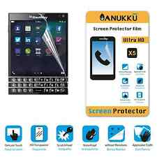3x PELLICOLA per Blackberry Passport FRONTE + PANNO PROTETTIVA DISPLAY