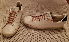 Vintage KEN ROSEWALL Tennis Shoes Men's 12 sneakers white leather