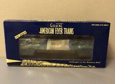LIONEL GILBERT AMERICAN FLYER #6-48529 NEW YORK CENTRAL FLATCAR W/ WHEEL LOAD