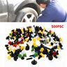 F3C4 UniversalMixed 500PCS Car Body Trim Moulding Door Panel Car Bumper Clips