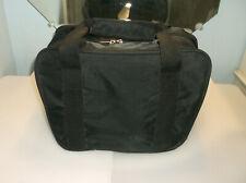 New listing Candlepin Bag/Black/Nylon/4 Ball/Good Used Cond/Padded 4 Ball Divider Inside