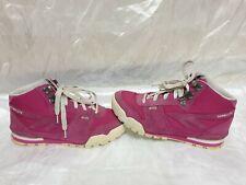 hi tec womens pink suede boots size uk 6 eu 39