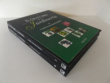 1996 EL GRAN LIBRO DE LA JARDINERIA 2/2 Vol. SALVAT Illustrated Hardback SPANISH
