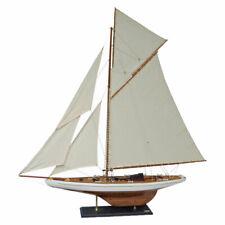 Navyline Holz Modellschiff Columbia Nachbau - Modellboot Segelschiff Stoffsegel