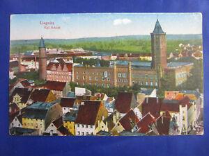"""PK AK Litho """"Liegnitz Kgl.Schloß Legnica Schlesien Stadtansicht um 1915"""
