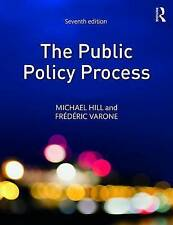The Public Policy Process by Frederic Varone, Michael Hill (Paperback, 2016)