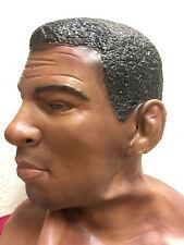Muhammad Ali Champ Latex Mask Cassius Clay Boxer Halloween Fancy Dress Masks