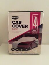 """Budge Car Cover Superior Size 4 For Full Size Vehicles Fits 16'9"""" up to 19'"""