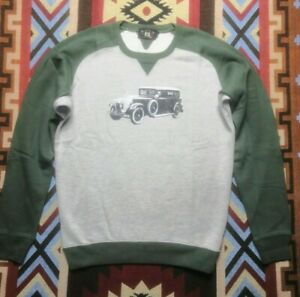 RRL Double RL Ralph Lauren Cotton Sweater