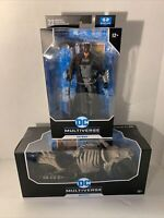 McFarlane DC Multiverse Death Metal Batman  Action Figure & Batcycle in Hand New
