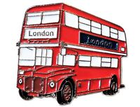 NEW Routemaster London Bus Transport Metal Enamel Lapel Pin Badge Brooch 30mm