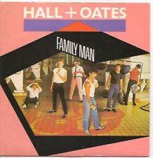 """Family Man/ Open All Night 7"""" : Daryl Hall & John Oates"""
