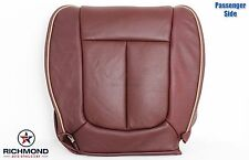 2010 Ford F150 King Ranch -Passenger Side Bottom Replacement Leather Seat Cover