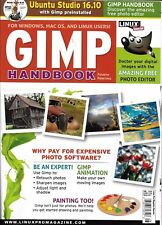 Gimp Handbook magazine Photo editor Animation Painting Ubuntu Studio Linux