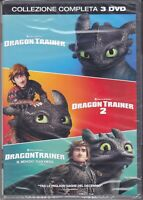 3 Dvd Box DRAGON TRAINER collection la trilogia serie collezione completa nuovo