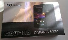Goclever Insignia 800M Tablet 3G con GPS, Quad Core, Nero