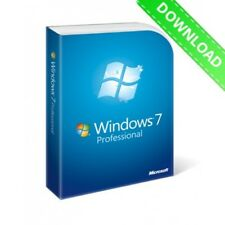 Genuine Microsoft Windows 7 Pro 32/64bit professionnelle clé et Télécharger
