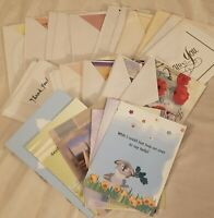 Greeting Card Lot - 31 Various Cards, Thank You, Thinking of You, Get Well Soon