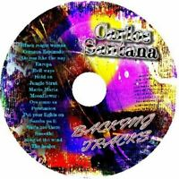CARLOS SANTANA GUITAR BACKING TRACKS CD BEST GREATEST HITS LATIN MUSIC BLUES