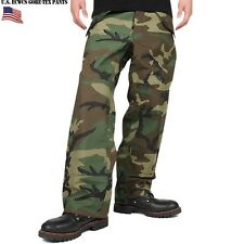 Goretex Cold Weather Trousers Genuine US Military Issue ECWCS Woodland Camo New