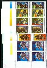 1994 Circus,Tiger,Bike,Cycle,Elephant,Clown,Bear,Monkey,Horse,Romania,5026-MNHx4