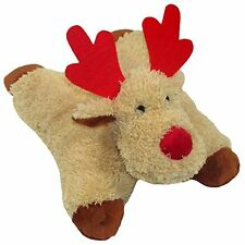 Good Girl Crinkle Jingle Catnip Bells Cat Kitten Reindeer Christmas Festive Toy