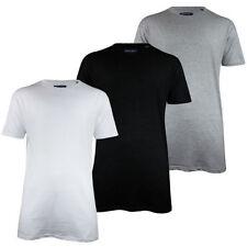 Brave Soul Short Sleeve Basic Loose Fit T-Shirts for Men