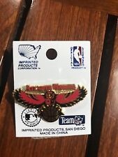 ATLANTA HAWKS NBA PIN BRAND NEW ON CARD