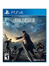 Final Fantasy XV 15 Game for PS4 Pro Playstation 4 Console Day One Edition w/DLC