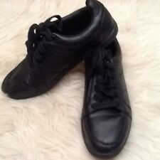 Men's Mossimo Sneakers Black Leather Sneakers Shoes Size 7