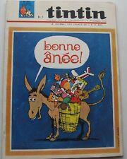 JOURNAL TINTIN N°897 BONNE ANEE/JACOBS L'AFFAIRE DU COLLIER 1965 BON ETAT