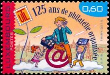 Luxemburg 2015  125jr filatelie    POSTFRIS/MNH