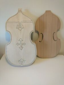 Unfinished Viola da Gamba, Bass size