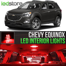 2010-2017 Chevrolet Equinox Red Interior LED Lights Kit Package