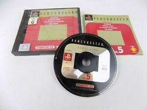 Mint Disc Playstation 1 Ps1 Namco Museum Volume 5 Vol 5 Free Postage