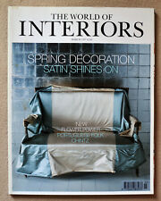 The World of Interiors magazine March 1997