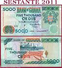 GHANA - 5.000 5000 CEDIS 2.5. 1998 - P 34c - SPL++/QFDS ; XF++/AUNC