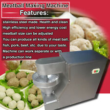 free shipping,280pcs/h fish/pork/beef meatball making machine,CE,3 set free mold