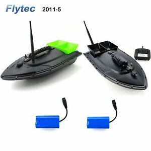 Flytec 2011-5 2.4G RC Remote Control Fishing Bait Fish Finder Racing Speed Boat
