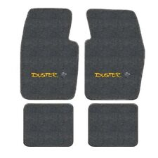 Plymouth Duster Logo Loop Carpet Floor Mats - Choose Mat Color And Logo(Fits: Plymouth Duster)