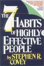 The Seven Habits of Highly Effective People by Stephen R. Covey (NEW 6 Cassette)