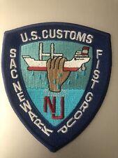 New Jersey  Police - USC  Newark NJ  Police Patch