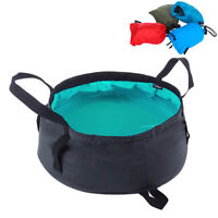 Portable Water Basin Folding Washbowl Collapsible Sink Camp Bucket  RtHKr Top
