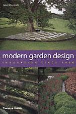 Modern Garden Design: Innovation Sinc by Janet Waymark (Hardback, 2003)